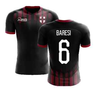 2020-2021 Milan Pre-Match Concept Football Shirt (BARESI 6)