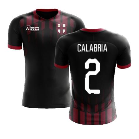 2020-2021 Milan Pre-Match Concept Football Shirt (CALABRIA 2)