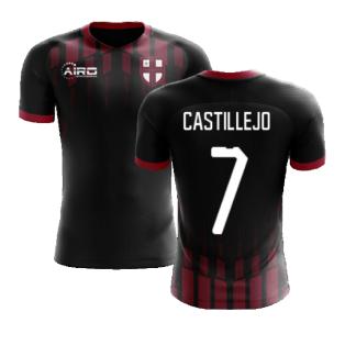 2020-2021 Milan Pre-Match Concept Football Shirt (CASTILLEJO 7)