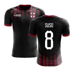 2020-2021 Milan Pre-Match Concept Football Shirt (SUSO 8)