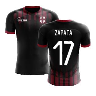 2020-2021 Milan Pre-Match Concept Football Shirt (ZAPATA 17)