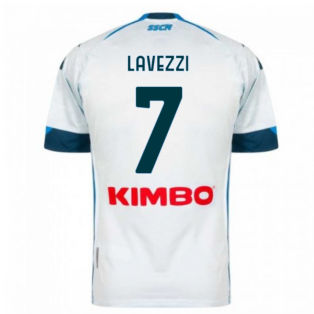 2020-2021 Napoli Away Shirt (LAVEZZI 7)