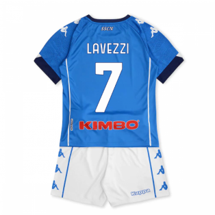 2020-2021 Napoli Home Kit (Kids) (LAVEZZI 7)