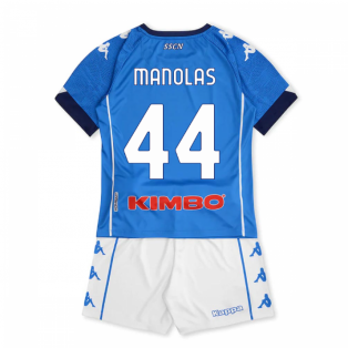 2020-2021 Napoli Home Kit (Kids) (MANOLAS 44)