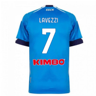 2020-2021 Napoli Home Shirt (LAVEZZI 7)
