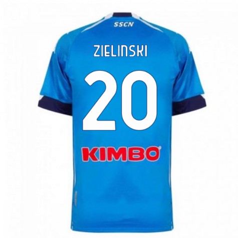 2020-2021 Napoli Home Shirt (ZIELINSKI 20)