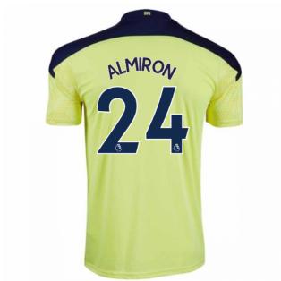 2020-2021 Newcastle Away Football Shirt (ALMIRON 24)