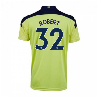 2020-2021 Newcastle Away Football Shirt (Kids) (ROBERT 32)