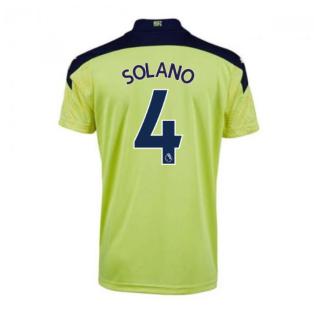 2020-2021 Newcastle Away Football Shirt (Kids) (SOLANO 4)