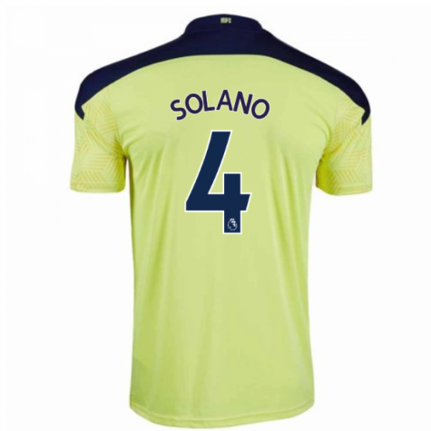 2020-2021 Newcastle Away Football Shirt (SOLANO 4)