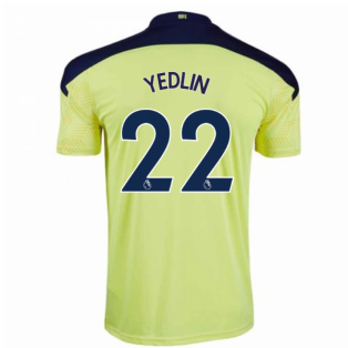 2020-2021 Newcastle Away Football Shirt (YEDLIN 22)