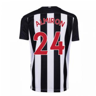 2020-2021 Newcastle Home Football Shirt (Kids) (ALMIRON 24)