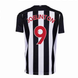 2020-2021 Newcastle Home Football Shirt (Kids) (JOELINTON 9)