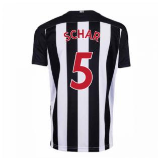 2020-2021 Newcastle Home Football Shirt (Kids) (SCHAR 5)
