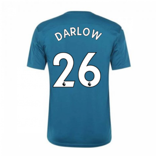 2020-2021 Newcastle Home Goalkeeper Shirt (Deep Lagoon) (DARLOW 26)