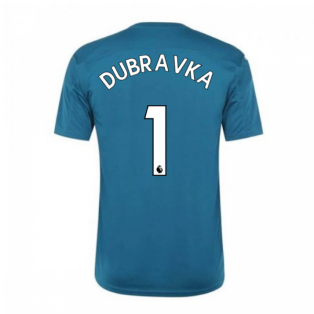 2020-2021 Newcastle Home Goalkeeper Shirt (Deep Lagoon) (DUBRAVKA 1)