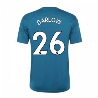 2020-2021 Newcastle Home Goalkeeper Shirt Lagoon (Kids) (DARLOW 26)