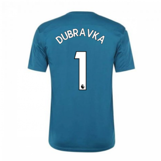 2020-2021 Newcastle Home Goalkeeper Shirt Lagoon (Kids) (DUBRAVKA 1)