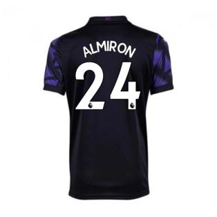 2020-2021 Newcastle Third Football Shirt (Kids) (ALMIRON 24)