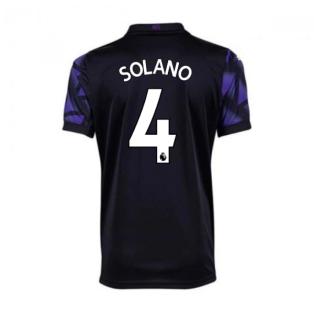 2020-2021 Newcastle Third Football Shirt (Kids) (SOLANO 4)