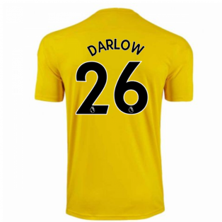 2020-2021 Newcastle Third Goalkeeper Shirt (Yellow) (DARLOW 26)