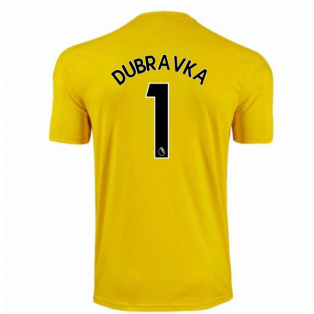 2020-2021 Newcastle Third Goalkeeper Shirt (Yellow) (DUBRAVKA 1)