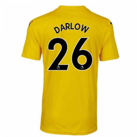 2020-2021 Newcastle Third Goalkeeper Shirt Yellow (Kids) (DARLOW 26)