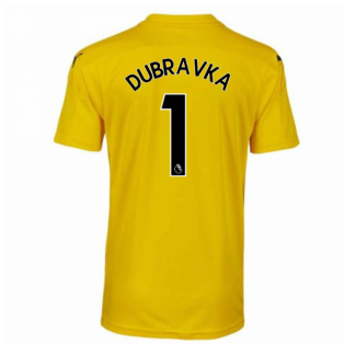2020-2021 Newcastle Third Goalkeeper Shirt Yellow (Kids) (DUBRAVKA 1)