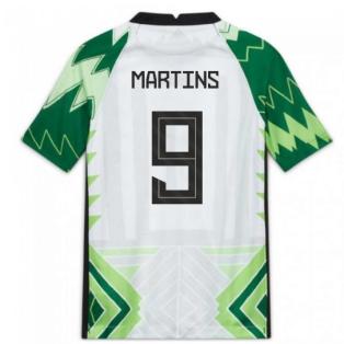 2020-2021 Nigeria Home Shirt (Kids) (MARTINS 9)