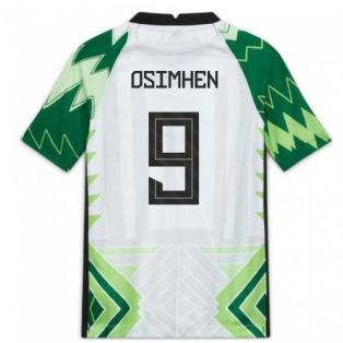 2020-2021 Nigeria Home Shirt (Kids) (OSIMHEN 9)