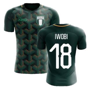 2020-2021 Nigeria Third Concept Football Shirt (Iwobi 18) - Kids