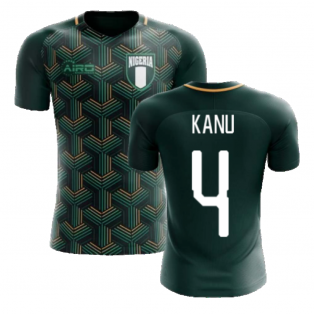 2020-2021 Nigeria Third Concept Football Shirt (Kanu 4) - Kids