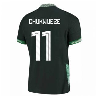 2020-2021 Nigeria Vapor Away Shirt (CHUKWUEZE 11)