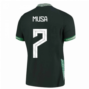 2020-2021 Nigeria Vapor Away Shirt (MUSA 7)