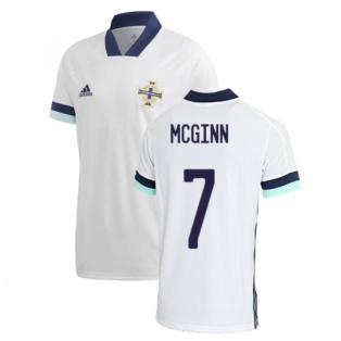 2020-2021 Northern Ireland Away Shirt (McGinn 7)