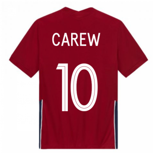 2020-2021 Norway Home Nike Football Shirt (CAREW 10)
