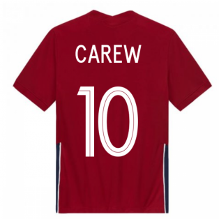 2020-2021 Norway Home Nike Football Shirt (Kids) (CAREW 10)