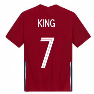 2020-2021 Norway Home Nike Football Shirt (Kids) (KING 7)