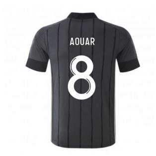 2020-2021 Olympique Lyon Adidas Away Football Shirt (AOUAR 8)