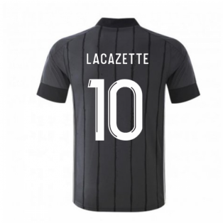 2020-2021 Olympique Lyon Adidas Away Football Shirt (LACAZETTE 10)