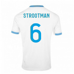 2020-2021 Olympique Marseille Puma Home Football Shirt (Kids) (STROOTMAN 6)