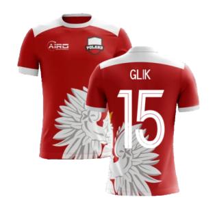 2020-2021 Poland Away Concept Football Shirt (Glik 15) - Kids