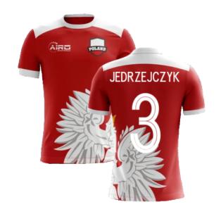 2020-2021 Poland Away Concept Football Shirt (Jedrzejczyk 3) - Kids