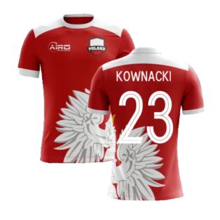 2020-2021 Poland Away Concept Football Shirt (Kownacki 23) - Kids