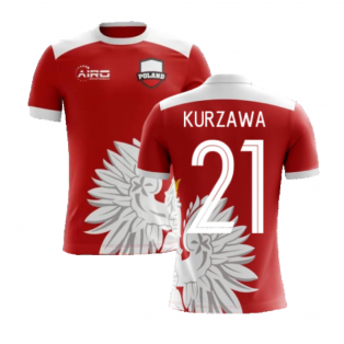 2020-2021 Poland Away Concept Football Shirt (Kurzawa 21) - Kids