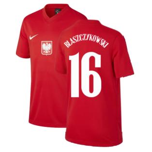 2020-2021 Poland Away Supporters Jersey (Kids) (BLASZCZYKOWSKI 16)