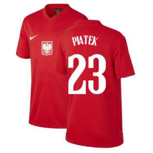 2020-2021 Poland Away Supporters Jersey (Kids) (PIATEK 23)