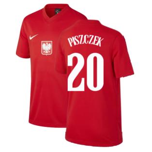 2020-2021 Poland Away Supporters Jersey (Kids) (PISZCZEK 20)