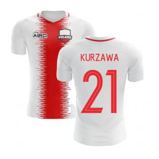 2020-2021 Poland Home Concept Football Shirt (Kurzawa 21) - Kids