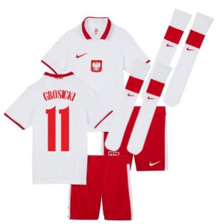 2020-2021 Poland Home Mini Kit (GROSICKI 11)